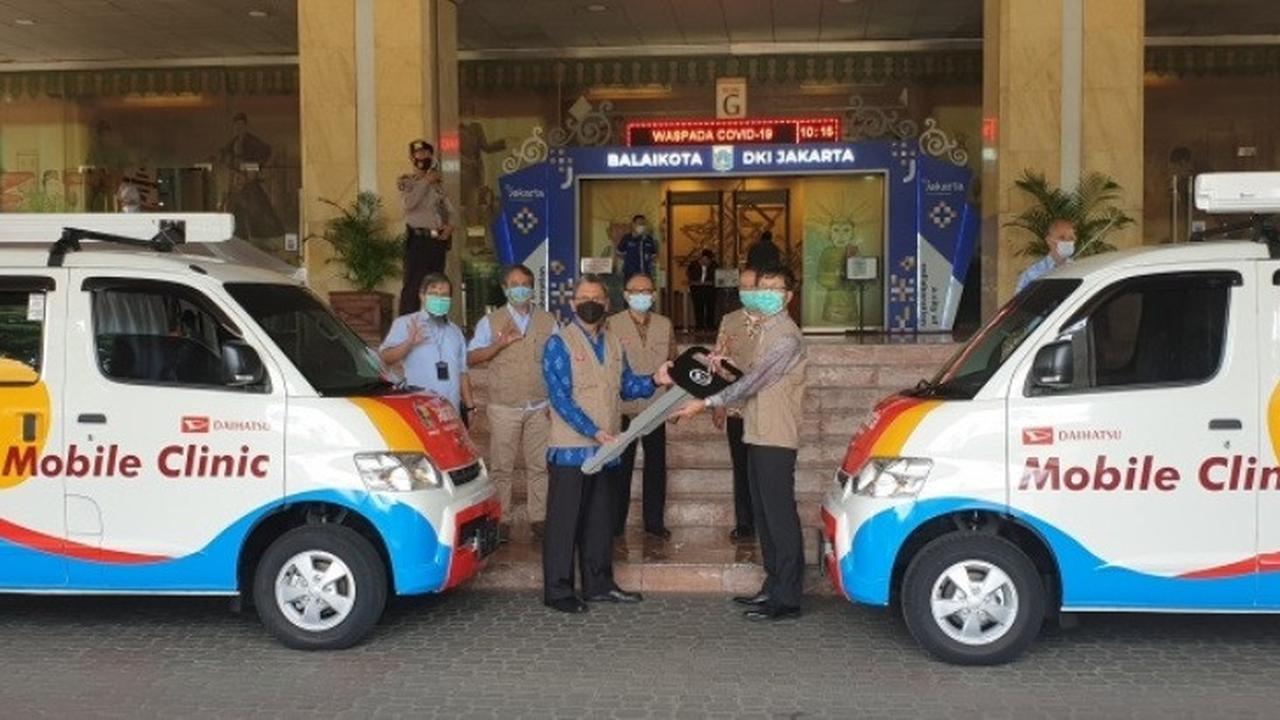Bantu Penanganan Covid-19, Daihatsu Sumbang Mobil Klinik untuk Pemprov DKI Jakarta