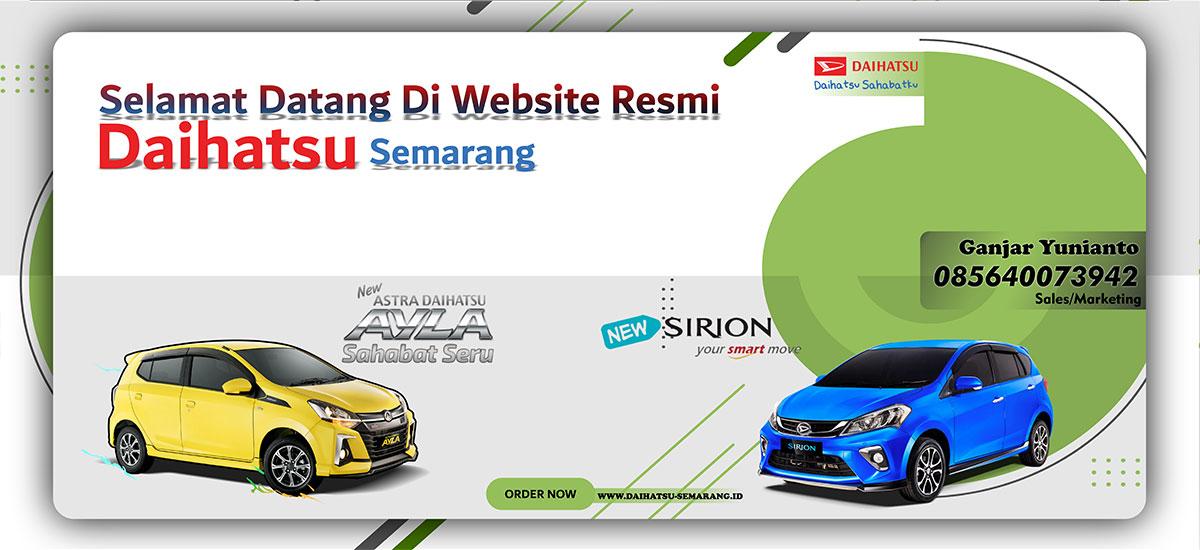 Banner Daihatsu Semarang by Websiters Indonesia