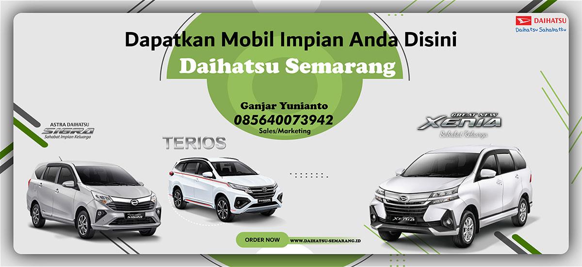 Slider Daihatsu Semarang by Websiters Indonesia